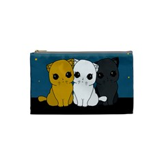 Cute Cats Cosmetic Bag (small)