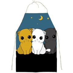 Cute Cats Full Print Aprons