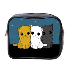 Cute Cats Mini Toiletries Bag 2 Side