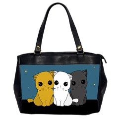 Cute Cats Office Handbags (2 Sides)