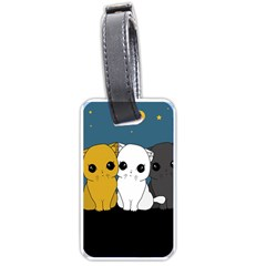 Cute Cats Luggage Tags (two Sides)