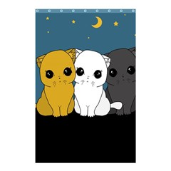 Cute Cats Shower Curtain 48  X 72  (small)