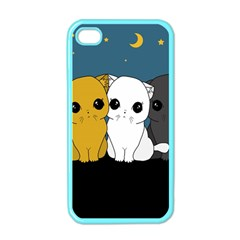 Cute Cats Apple Iphone 4 Case (color)