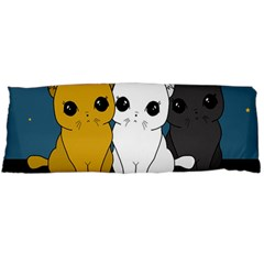 Cute Cats Body Pillow Case (dakimakura)
