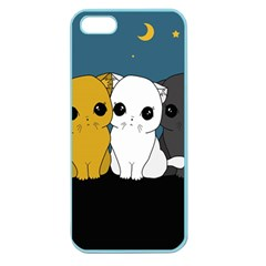 Cute Cats Apple Seamless Iphone 5 Case (color)