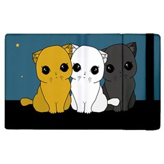 Cute Cats Apple Ipad 2 Flip Case