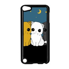 Cute Cats Apple Ipod Touch 5 Case (black)