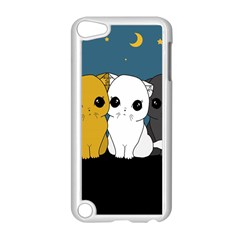 Cute Cats Apple Ipod Touch 5 Case (white)