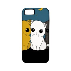 Cute Cats Apple Iphone 5 Classic Hardshell Case (pc+silicone)