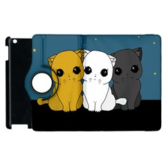 Cute Cats Apple Ipad 3/4 Flip 360 Case