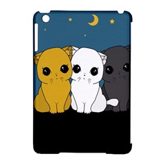 Cute Cats Apple Ipad Mini Hardshell Case (compatible With Smart Cover)