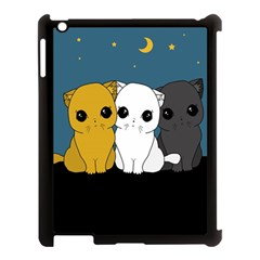 Cute Cats Apple Ipad 3/4 Case (black)