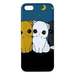 Cute Cats Apple Iphone 5 Premium Hardshell Case