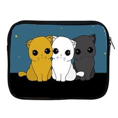 Cute Cats Apple Ipad 2/3/4 Zipper Cases
