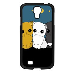 Cute Cats Samsung Galaxy S4 I9500/ I9505 Case (black)