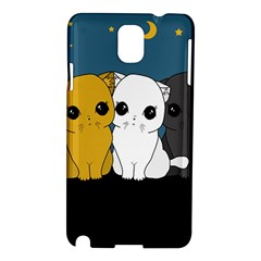 Cute Cats Samsung Galaxy Note 3 N9005 Hardshell Case