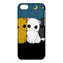Cute Cats Apple Iphone 5c Hardshell Case