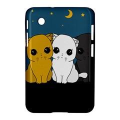 Cute Cats Samsung Galaxy Tab 2 (7 ) P3100 Hardshell Case