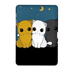 Cute Cats Samsung Galaxy Tab 2 (10 1 ) P5100 Hardshell Case