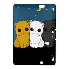 Cute Cats Kindle Fire Hdx 8 9  Hardshell Case