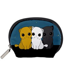 Cute Cats Accessory Pouches (small)