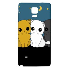 Cute Cats Galaxy Note 4 Back Case