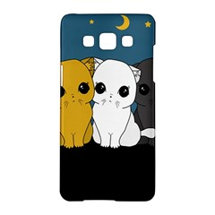 Cute Cats Samsung Galaxy A5 Hardshell Case