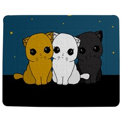Cute Cats Jigsaw Puzzle Photo Stand (rectangular)