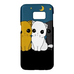 Cute Cats Samsung Galaxy S7 Hardshell Case