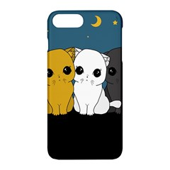 Cute Cats Apple Iphone 7 Plus Hardshell Case