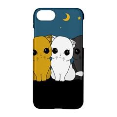 Cute Cats Apple Iphone 7 Hardshell Case