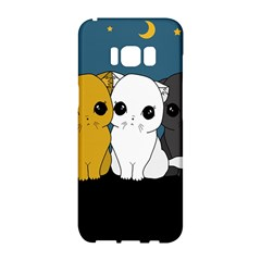 Cute Cats Samsung Galaxy S8 Hardshell Case