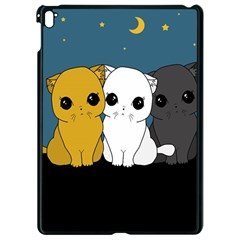Cute Cats Apple Ipad Pro 9 7   Black Seamless Case