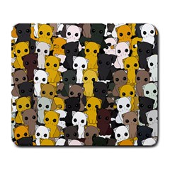 Cute Cats Pattern Large Mousepads