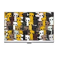 Cute Cats Pattern Business Card Holders