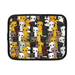 Cute Cats Pattern Netbook Case (small)
