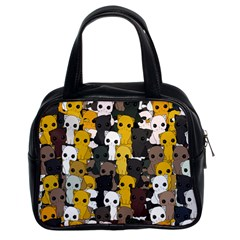 Cute Cats Pattern Classic Handbags (2 Sides)