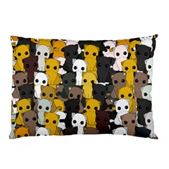 Cute Cats Pattern Pillow Case