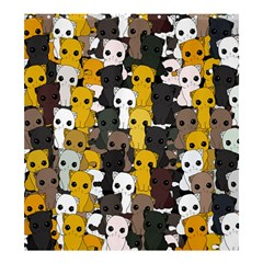 Cute Cats Pattern Shower Curtain 66  X 72  (large)
