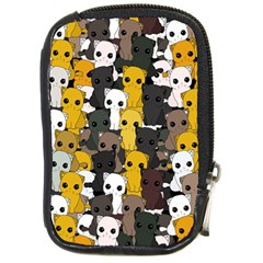 Cute Cats Pattern Compact Camera Cases
