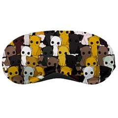 Cute Cats Pattern Sleeping Masks