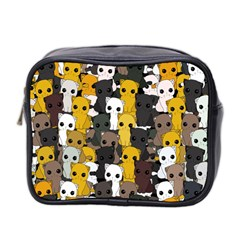 Cute Cats Pattern Mini Toiletries Bag 2 Side
