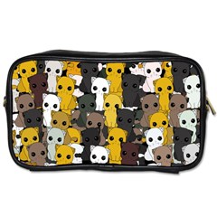 Cute Cats Pattern Toiletries Bags