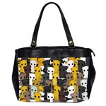Cute cats pattern Office Handbags (2 Sides)  Front