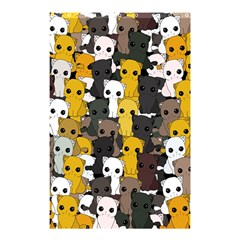 Cute Cats Pattern Shower Curtain 48  X 72  (small)