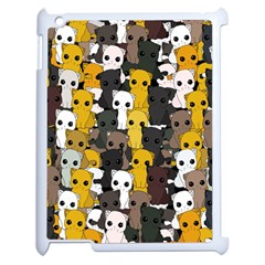 Cute Cats Pattern Apple Ipad 2 Case (white)