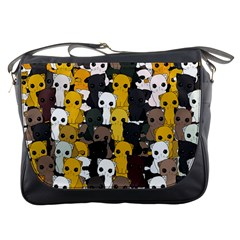 Cute Cats Pattern Messenger Bags