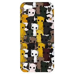 Cute Cats Pattern Apple Iphone 5 Hardshell Case