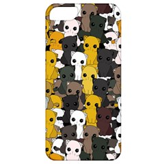Cute Cats Pattern Apple Iphone 5 Classic Hardshell Case