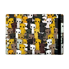 Cute Cats Pattern Apple Ipad Mini Flip Case